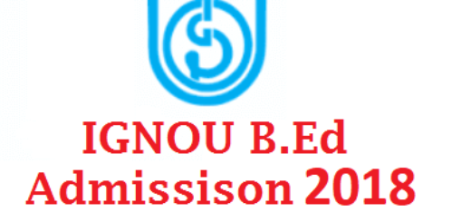 Procedure for IGNOU B.Ed admission