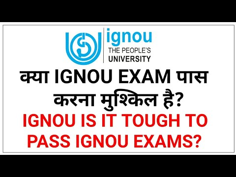 Clearing IGNOU exams in one go